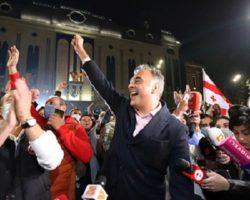 Грузинские оппозиционеры отказались признать легитимность парламентских выборов