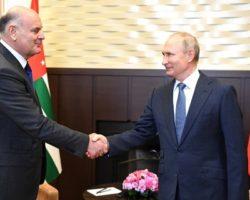 Аслан Бжания встретился с Владимиром Путиным в Сочи