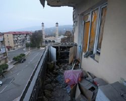 На занятых Азербайджаном территориях Карабаха введен комендантский час