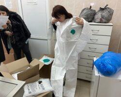 Врачи РЮО получили СИЗ от «Красного Креста»