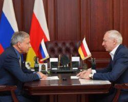 Владимир Гуриев продвигает бизнес-проект в РСО-Алания