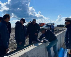 «Тamish Village»: президент Абхазии  лично осмотрел ход работ по возведению туристического комплекса