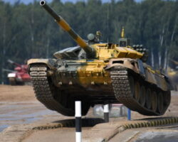 Танковый биатлон: названа дата выступления команды из Южной Осетии