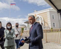 Анатолий Бибилов отдал свой голос за «сильную Россию»