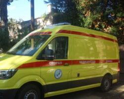 Больница Сухума получила реанимобиль от мецената